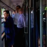 Wsiąść do pociągu byle jakiego – czyli o strategii wyborczej Ewy Kopacz.