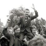 Sondaż: Lech Wałęsa odgrywał najważniejszą rolę w opozycji antykomunistycznej.